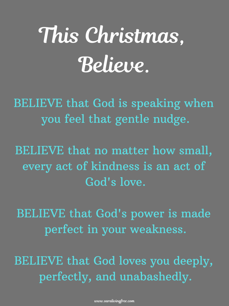 This Christmas, Believe