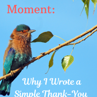 Mid-Month Moment: Why I Wrote A Simple Thank-You Poem to God