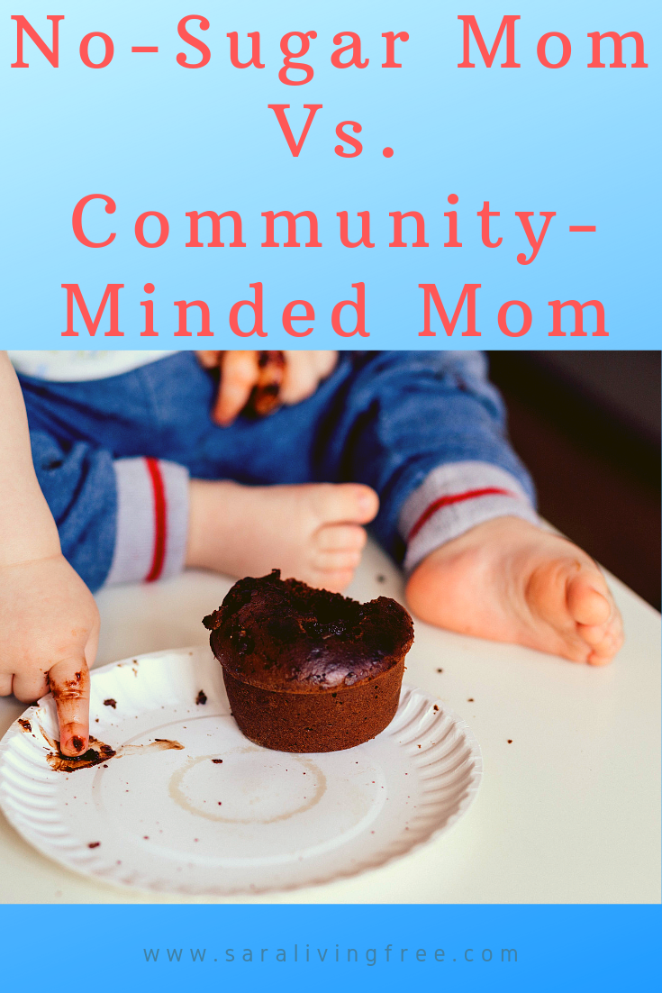 "No-Sugar Mom Vs. Community-Minded Mom / Do you find it hard to find balance between all the ""hats"" you wear as a Mom? Then, this post is for you! Read and be encouraged."