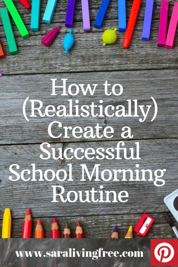 create a successful school morning routine