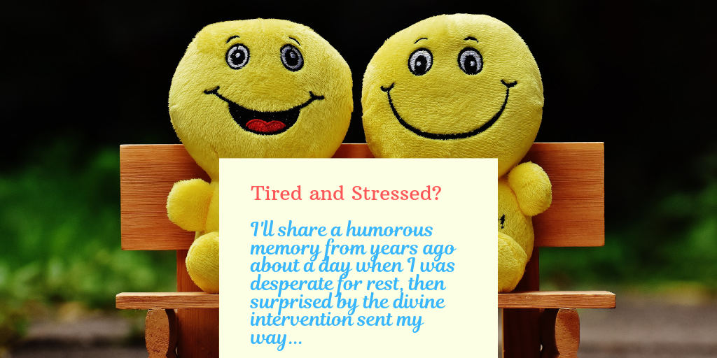 Tired and stressed? Then read this humorous story and be encouraged.