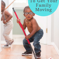 Creative Parenting: 1 Easy Tool To Get Your Family Moving