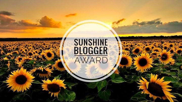 Feeling Honored: Sunshine Blogger Award