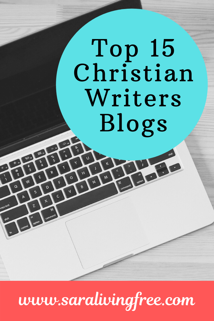 Find out how www.saralivingfree.com was selected as one of the Top 15 Christian Writers Blogs...