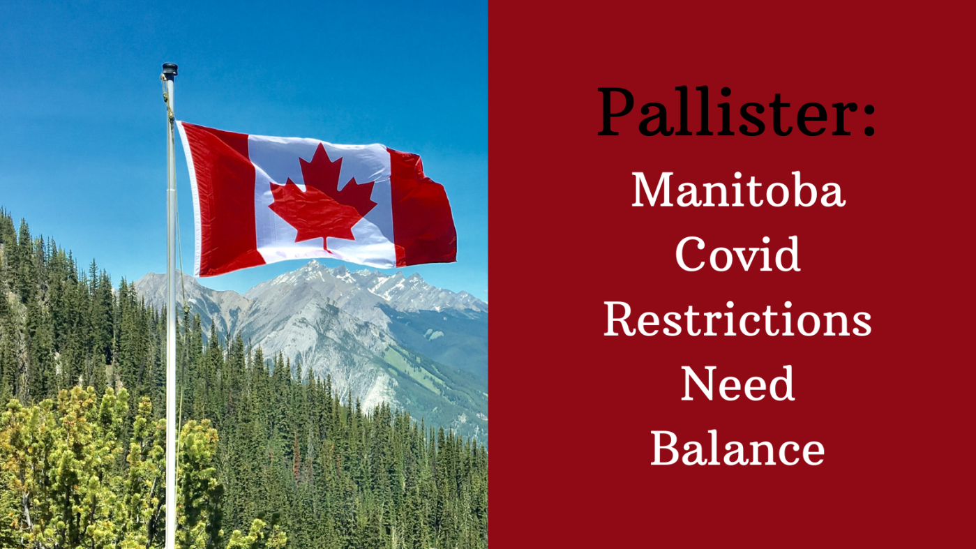 A video describing the need for balance from Pallister and government regarding Manitoba's Covid restrictions